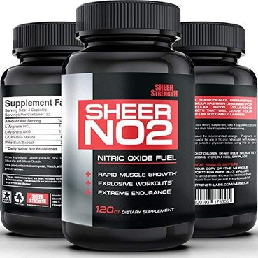 Sheer Strength NO2 Nitric Oxide Booster