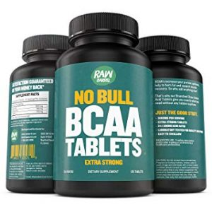 Raw Barrel's Pure BCAA Tablets