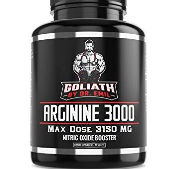Dr. Emil L Arginine (3150mg) Highest Pill Dosage – Review