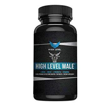 High Level Male Ultra Premium Testosterone Booster