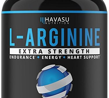 Extra Strength L Argenine -1200mg Nitiric Oxide For Muscle Growth - Review