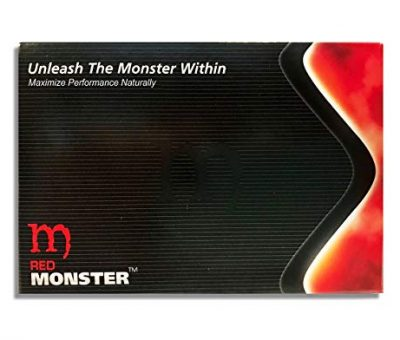 Red Monster Testosterone Booster (10 Caps)