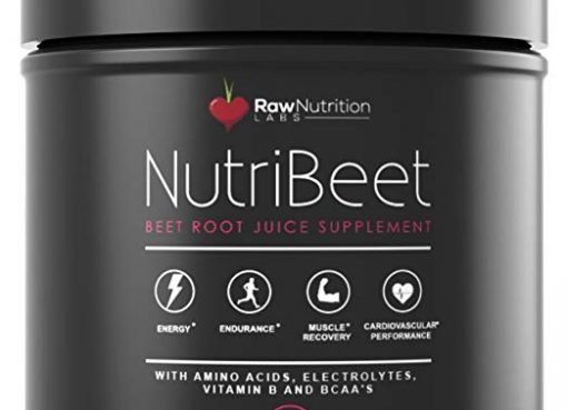Raw Nutrition Labs NutriBeet Nitric Oxide Optimizer Organic Beet Root