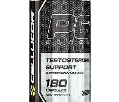Cellucor P6 Extreme Black Testosterone Capsules
