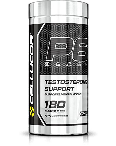 Cellucor P6 Extreme Black Testosterone Capsules