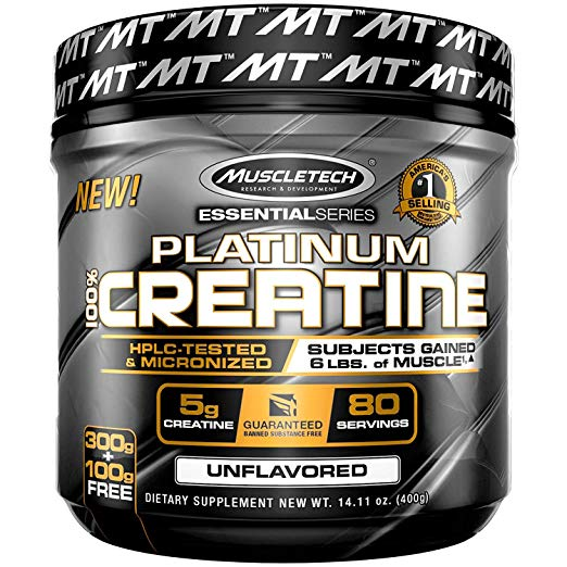 MuscleTech Platinum Creatine Monohydrate Powder - Review